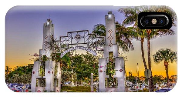Sarasota Bayfront IPhone Case