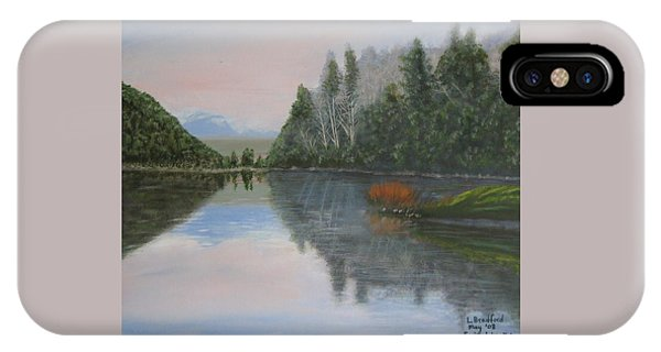 Sarita Lake On Vancouver Island IPhone Case