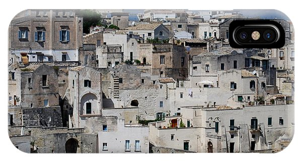 Sassi Of Matera Italy IPhone Case