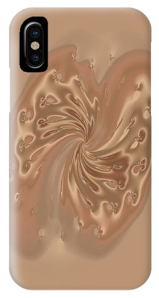 Satin Butterfly IPhone Case