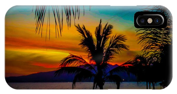 Saturated Mexican Sunset Phone Case by Charlene Gauld