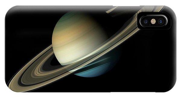 Solar System iPhone Case - Saturn by Carlos Clarivan