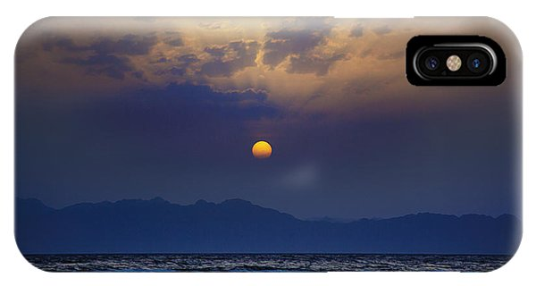 Saudi Sunrise IPhone Case