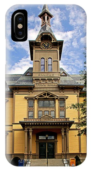 Saugus Town Hall IPhone Case