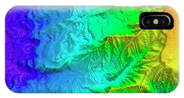 Sea Floor iPhone Case - Saunders Island Volcano by Philip Leat/pete Bucktrout, British Antarctic Survey
