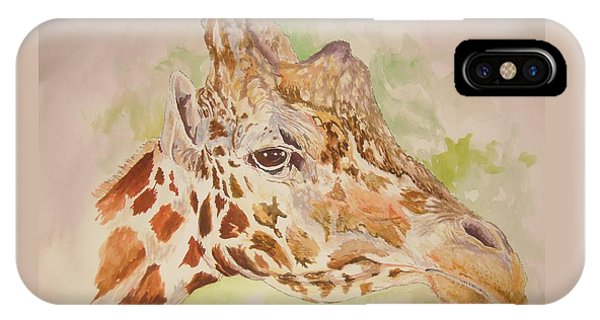 Savanna Giraffe IPhone Case