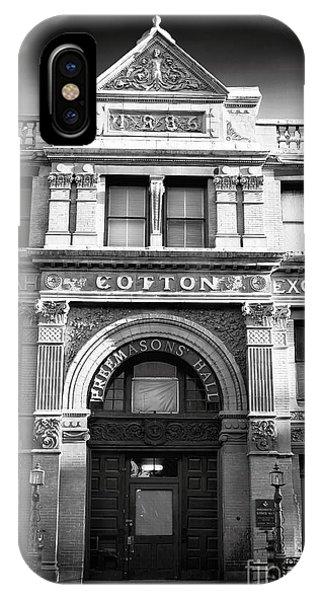 Savannah Cotton Exchange IPhone Case