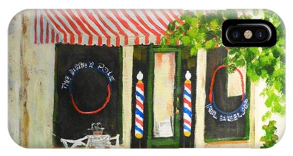 Savannah Barber Shop IPhone Case