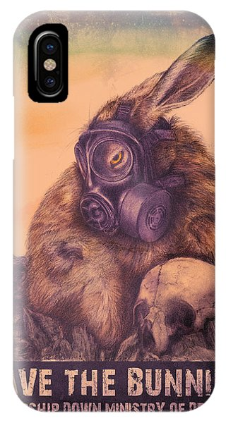 Save The Bunnies IPhone Case