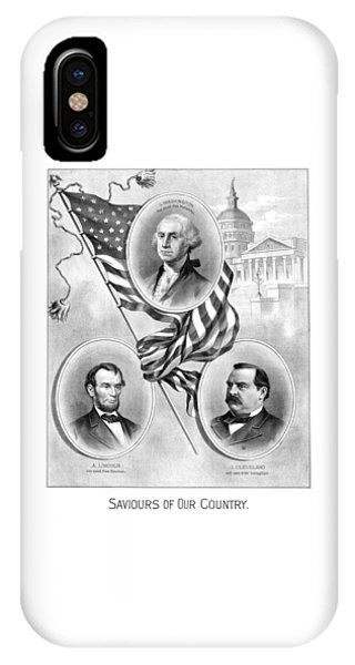 Capitol Building iPhone Case - Saviours Of Our Country  by War Is Hell Store