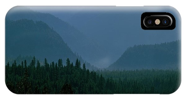 Sawtooth Mountains Silhouette IPhone Case