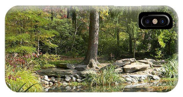 Sayen Gardens Pond IPhone Case