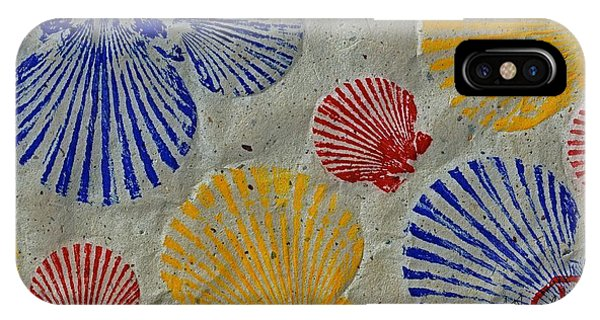 Scallops - Seafood Rainbow IPhone Case