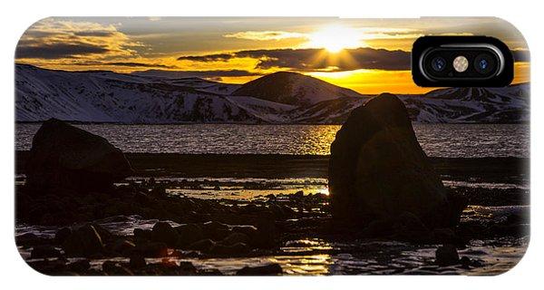 Scandinavian Lake  IPhone Case