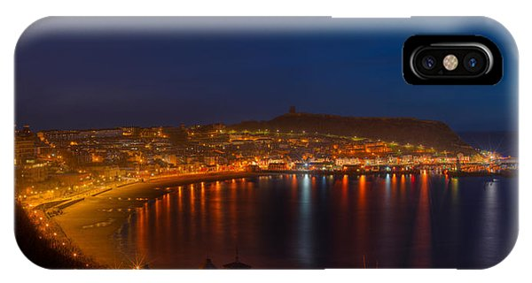 Scarborough Night Lights At Sunrise IPhone Case