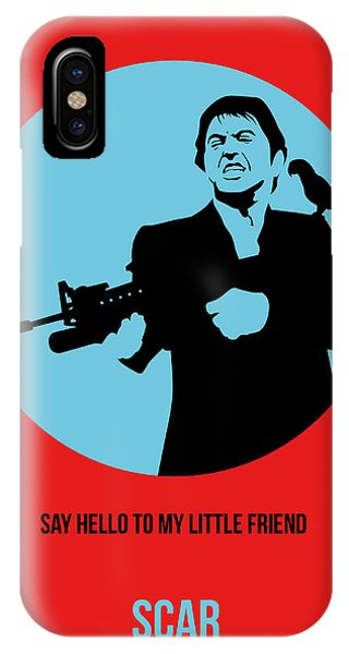 See iPhone Case - Scarface Poster 1 by Naxart Studio
