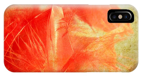 Scarlet On Vintage IPhone Case