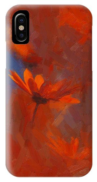 Scarlet Petals  IPhone Case