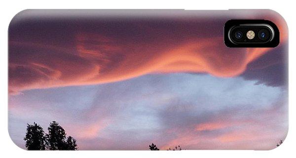 Scary Desert Sky Phone Case by Deborah Smolinske