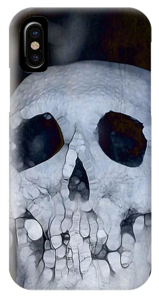 Scary Skull IPhone Case