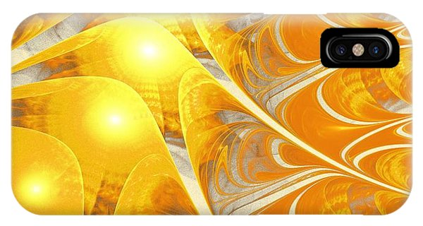 Scattered Sun IPhone Case