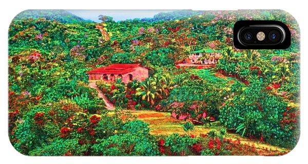 Scene From Mahogony Bay Honduras IPhone Case