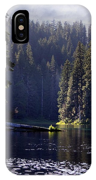 Scenic Clear Lake IPhone Case
