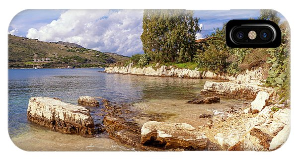 Scenic Kassiopi On Corfu Horizontal IPhone Case