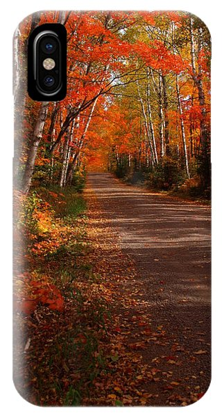 Scenic Maple Drive IPhone Case