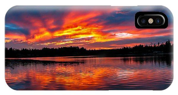 Scenic Marine Sunrise IPhone Case
