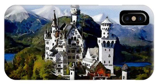 Schengen Castle IPhone Case