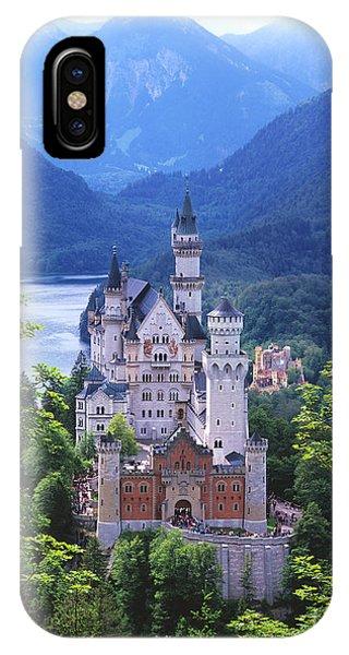 Schloss Neuschwanstein IPhone Case
