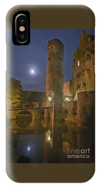 Schloss Sommersdorf By Moonlight IPhone Case