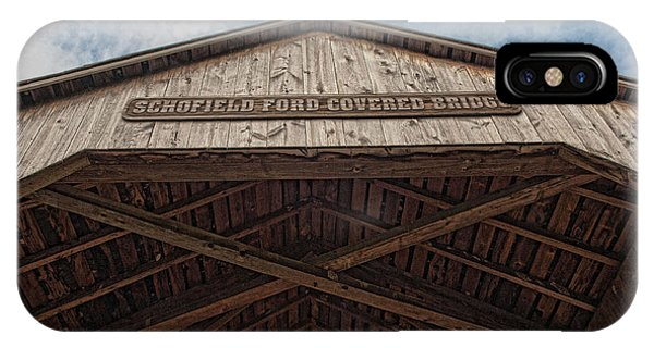 Schofield Ford Covered Bridge IPhone Case