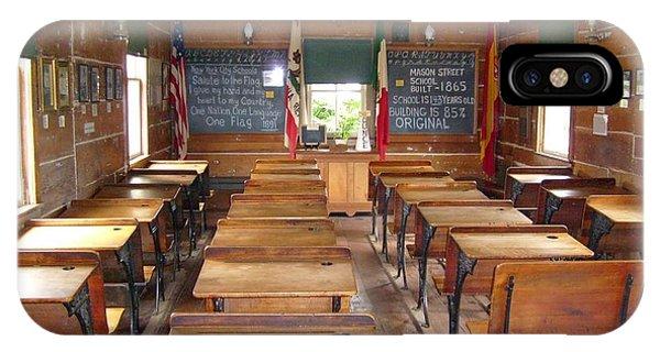 School House IPhone Case