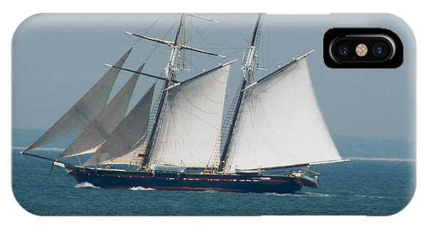 Schooner At Sail IPhone Case