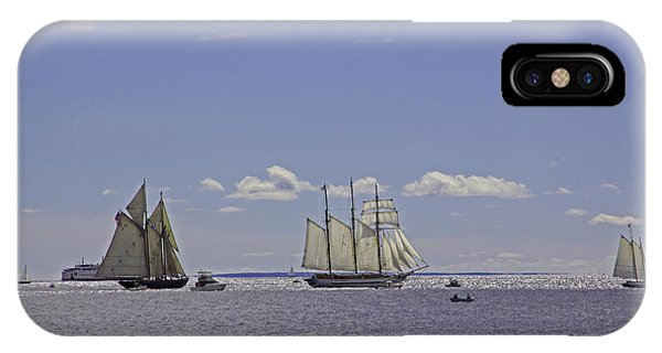 Schooners 2 IPhone Case