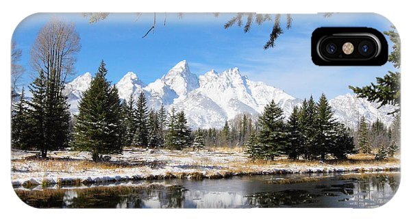 Schwabacher Landing - Grand Teton National Park IPhone Case