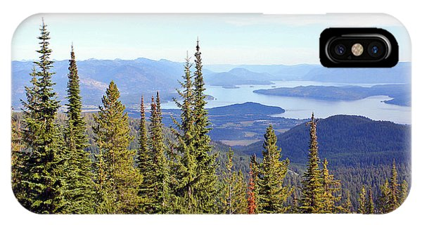 Schweitzer Mountain 7 IPhone Case