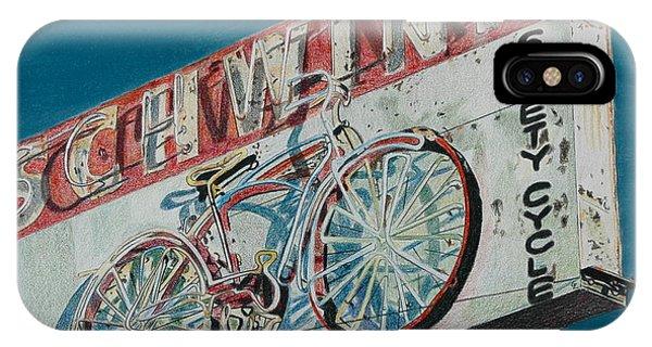 Schwinn Safety Cycle IPhone Case