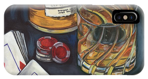 Cold iPhone Case - Scotch And Cigars 4 by Debbie DeWitt