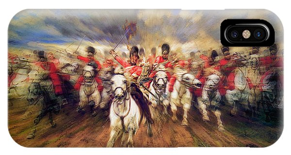 Scotland Forever During The Napoleonic Wars IPhone Case