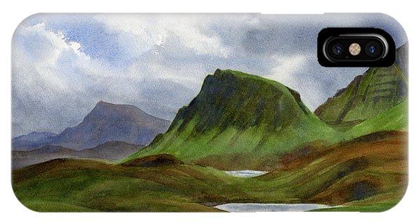 Rocky Mountain iPhone Case - Scotland Highlands Landscape by Sharon Freeman
