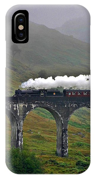 Scotland Steam Train And Bridge IPhone Case