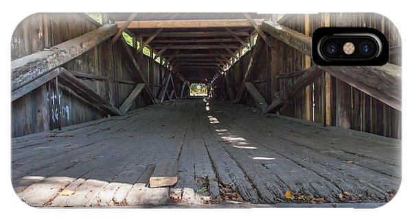 Scott Covered Bridge IPhone Case