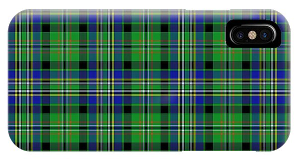 Scott Green Tartan Variant IPhone Case