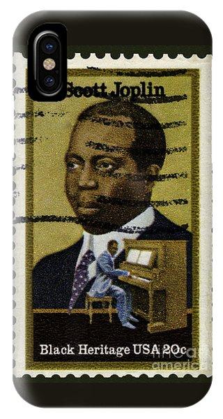 Scott Joplin Stamp IPhone Case