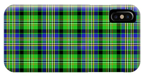 Scott Tartan Variant IPhone Case