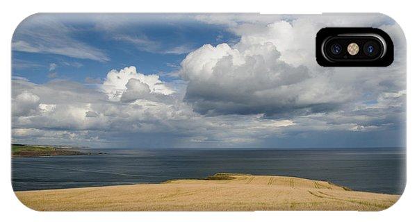 Scottish Coastal Wheatfield IPhone Case