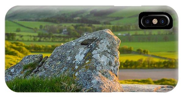 Beautiful Scotland iPhone Case - Scottish Landscape At Sunset by Mr Doomits
